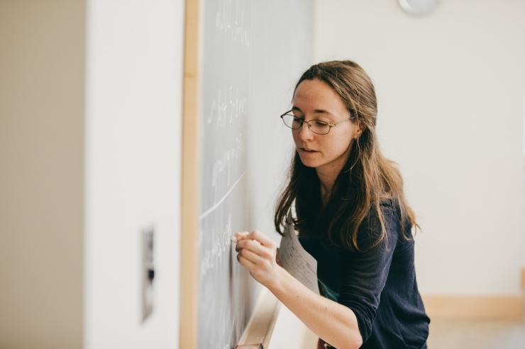 Kate Moore, Kemeny Math Dept. Class